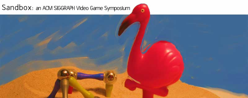 Flamingos are only marginally related to games, but very well suited for sandboxes.